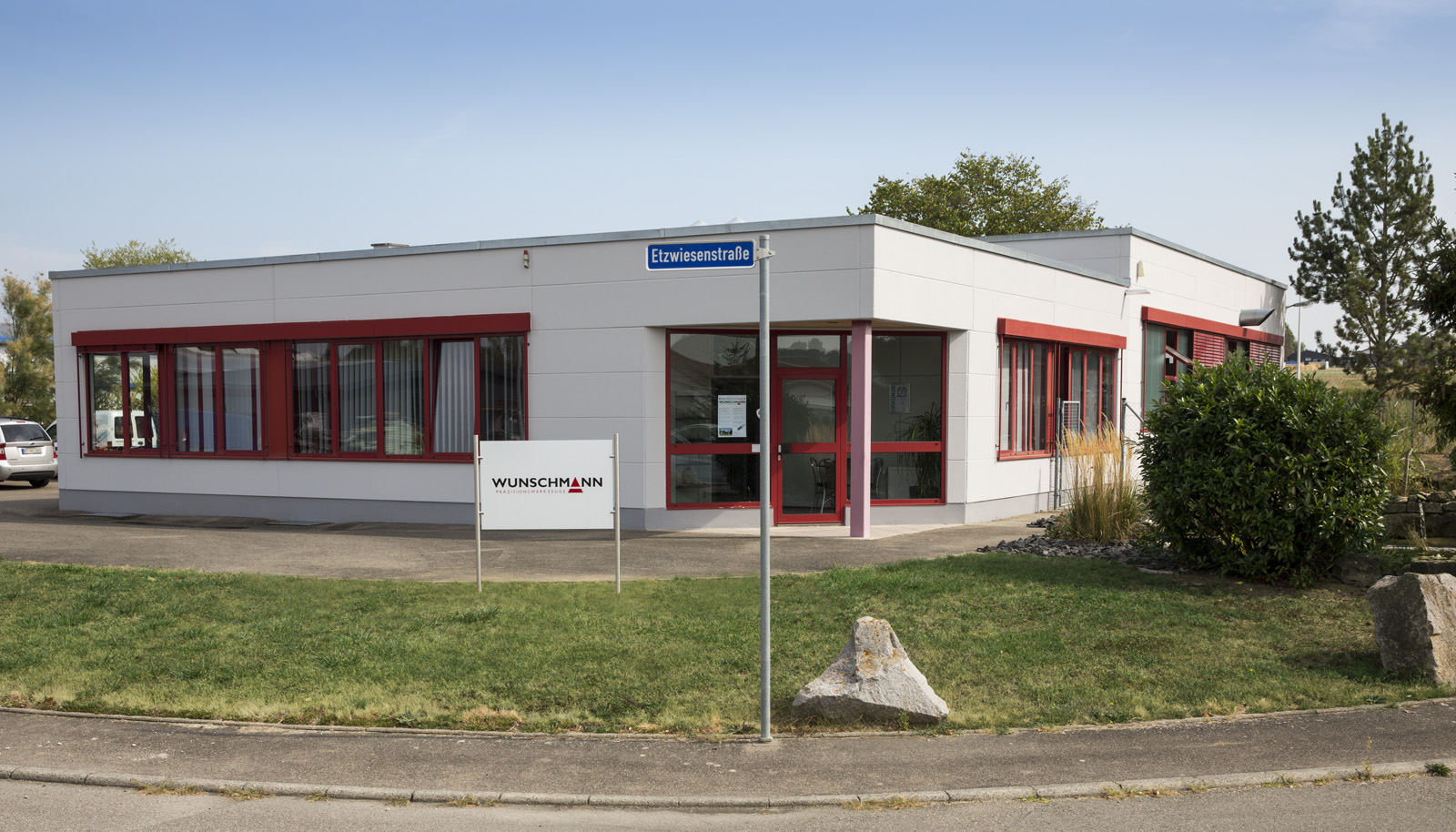 Wunschmann Werkzeugschärferei in der Etzwiesenstraße 39 in 72108 Rottenburg