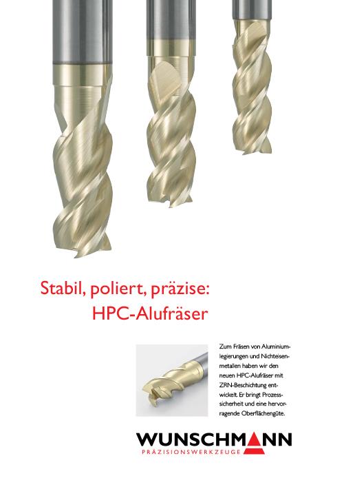 HPC-Alufräser