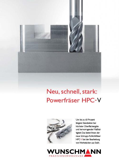 HPC-V-Fräser