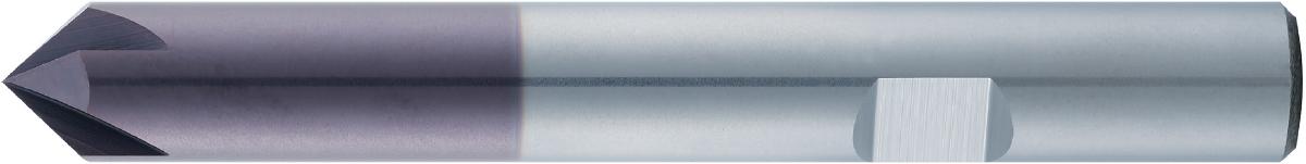 VHM-Entgrater 60°/90° · Typ 24, zum Anfasen und Entgraten, für kleinste Fasen ausgelegt, spezieller Schliff bis in die Spitze. Zerspanungswerkzeug von Wunschmann