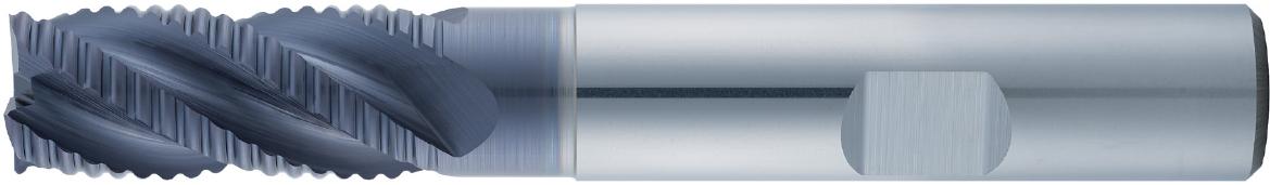 VHM-Schruppfräser Typ 198, zum Schruppen von VA-Werkstoffen (rostfrei), Zerspanungswerkzeug von Wunschmann