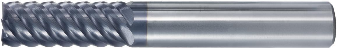 VHM-HRC-Fräser · Typ 170, mit spezieller Beschichtung und negativem Spanwinkel, zur Hartbearbeitung, zum Trockenfräsen geeignet. Zerspanungswerkzeug von Wunschmann