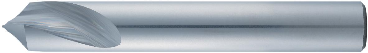 VHM-NC-Anbohrer 90°/120° · Typ 28, speziell mittig bis in die Spitze geschliffen, präzises Zentrieren und Fasen.  Zerspanungswerkzeug von Wunschmann