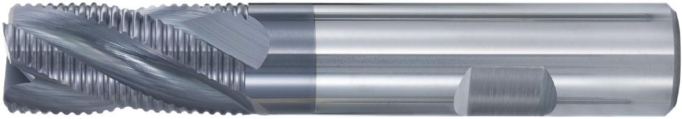 VHM-Schruppfräser · Typ 190, mit stabilen Schneidkanten zum Fräsen mit hohem Materialabtrag in Stahl- und Gusswerkstoffen. Zerspanungswerkzeug von Wunschmann
