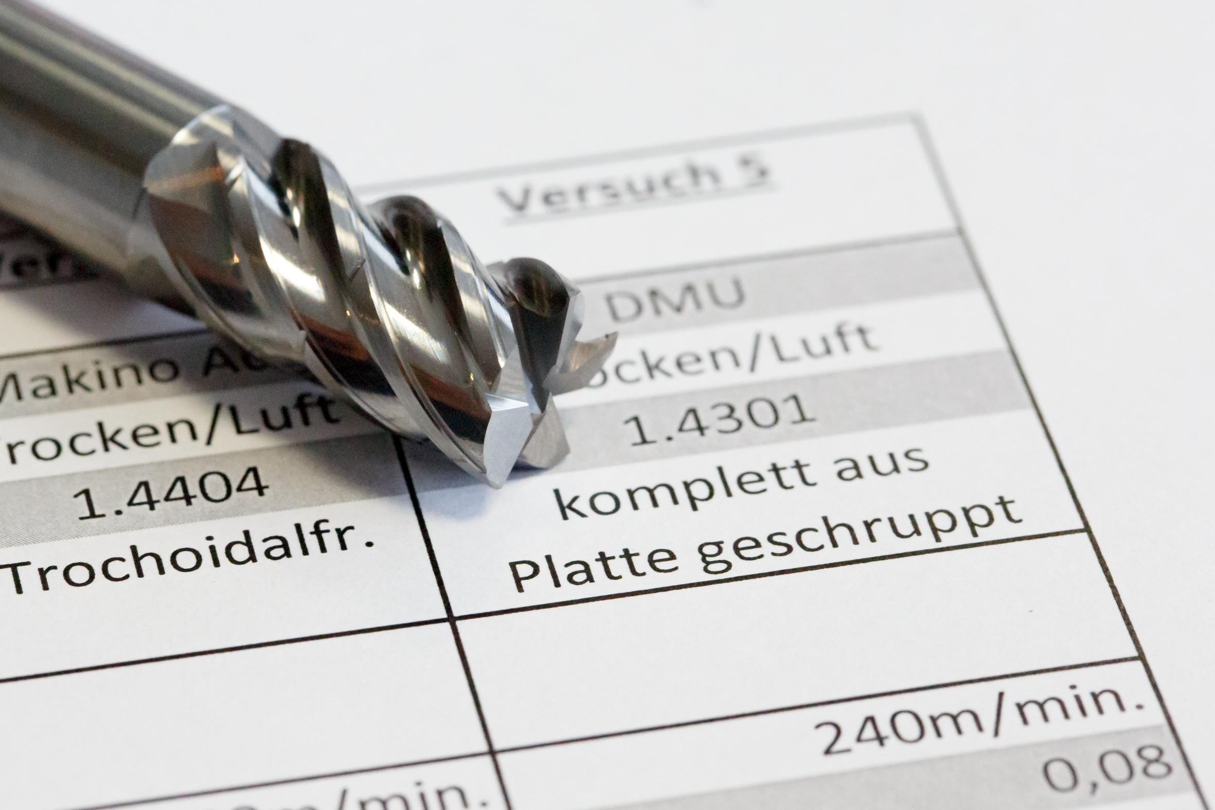 Überzeugte den Kunden schon beim ersten Test: Wunschmann-Trochoidalfräser. Foto: Kraas & Lachmann