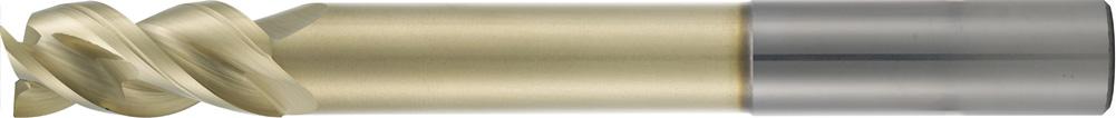 VHM-HPC-Alu-Fräser lang · Typ 184WL, mit langem abgesetztem Schaft, zum Schruppen und Schlichten von Alu- und Nichteisenlegierungen. Zerspanungswerkzeug von Wunschmann