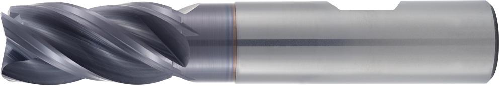 VHM-HPC-RH-Fräser, Rampenfräser Typ 189, stufenlos linear eintauchen bis 42°. Zerspanungswerkzeug von Wunschmann.