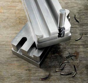 Bis zu 2 x D ins Volle mit höchsten Vorschüben, VHM-HPC-V Fräser 186 von Wunschmann für effiziente Zerspanung