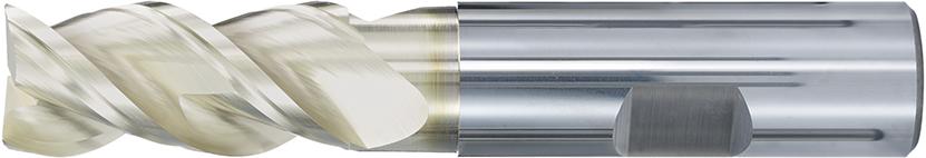VHM-HPC-Alu-Fräser Eckenradius · Typ 184WR, mit doppelter Nut und polierten Spanräumen, zum Schruppen, Schlichten, Nuten bei hoher Laufruhe. Zerspanungswerkzeug von Wunschmann
