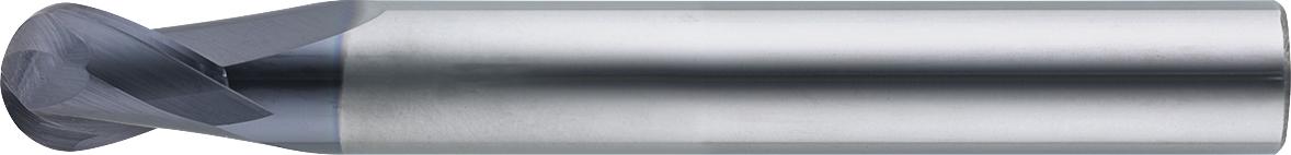 VHM-Vollradiusfräser HRC · Typ 134, für die Hartbearbeitung, mit besonderer Geometrie, spezielle Beschichtung, Zentrumschnitt. Zerspanungswerkzeug von Wunschmann