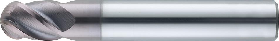 VHM-Vollradiusfräser HRC · Typ 151, für die Hartbearbeitung, mit besonderer Geometrie, spezielle Beschichtung, Zentrumschnitt. Zerspanungswerkzeug von Wunschmann